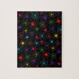 Customizable Starbursts Jigsaw Puzzles