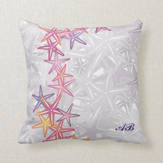Customizable: Starfish Throw Pillow