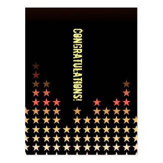 Customizable: Stars Postcard