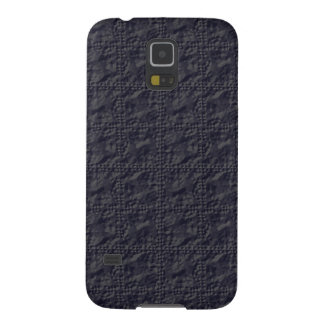 Customizable Steel Blue Crinkle Look Case For Galaxy S5