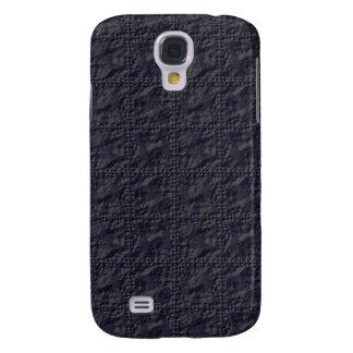 Customizable Steel Blue Crinkle Look Samsung S4 Case