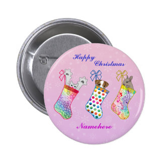 Customizable Stocking fillers Buttons