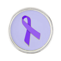 Customizable Stomach Cancer Lapel Pin