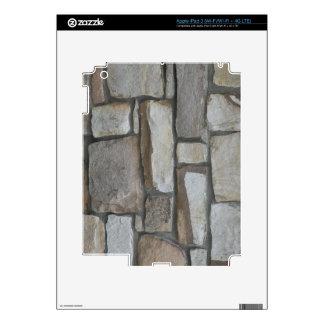 Customizable Stone Wall iPad 3 Skin
