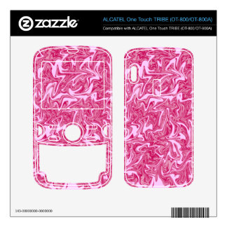 Customizable Stretched Crackle Swirl ALCATEL Tribe Skins