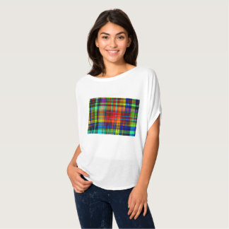 Customizable Stylish Colorful Abstract Designs T-Shirt