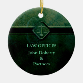 Customizable Stylish Ornament | Scales of Justice