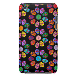 Customizable Sugar Skull Flowers iPod Touch Cover