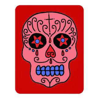 Customizable Sugar Skulls Card