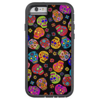 Customizable Sugar Skulls Tough Xtreme iPhone 6 Case
