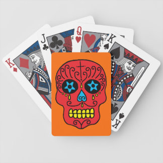 Customizable Sugar Skulls Deck Of Cards