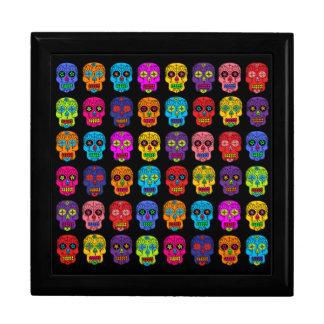 Customizable Sugar Skulls Jewelry Box