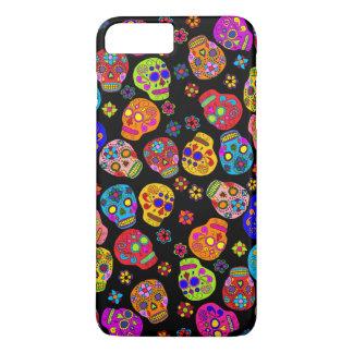 Customizable Sugar Skulls iPhone 7 Plus Case