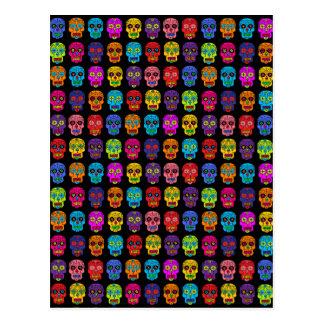 Customizable Sugar Skulls Post Card