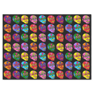 Customizable Sugar Skulls Tissue Paper