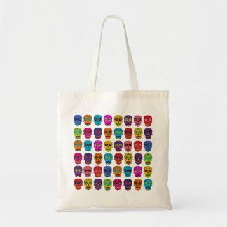Customizable Sugar Skulls Tote Bag