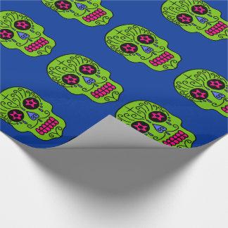 Customizable Sugar Skulls Wrapping Paper