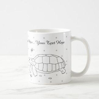 Customizable Sulcata Tortoise Mug