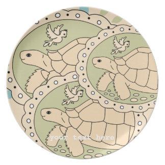 Customizable Sulcata Tortoise Plate