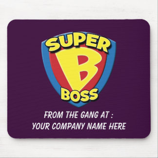 Customizable Super Boss Mousepad