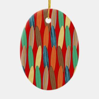 Customizable Surfboards Ceramic Ornament