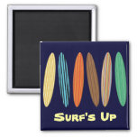 Customizable Surfboards Magnet