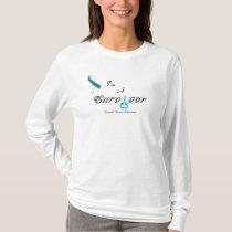 Customizable Survivor T - Cervical Cancer T-Shirt