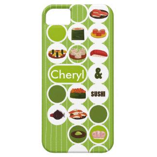 Customizable Sushi Iphone 5 (green) iPhone SE/5/5s Case