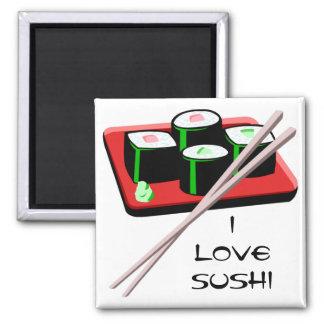 Customizable Sushi Rolls Magnet