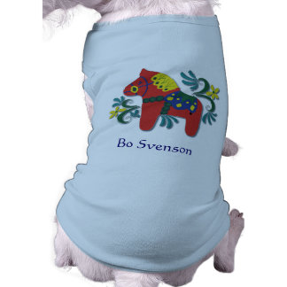 Customizable Swedish Dala Horse Tee