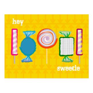 Customizable: Sweetie Postcard
