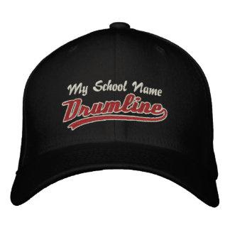 Customizable Swoosh Drumline Embroidered Baseball Cap