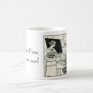 Customizable Teacher Mug with vintage picture