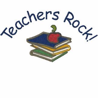 Customizable Teacher or Librarian Embroid. Polo