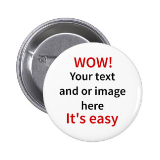 Customizable Template Make Your Own Button