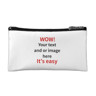 Customizable Template Make Your Own Cosmetic Bag