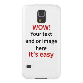 Customizable Template Make Your Own Galaxy S5 Covers