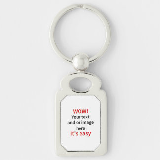 Customizable Template Make Your Own Keychain