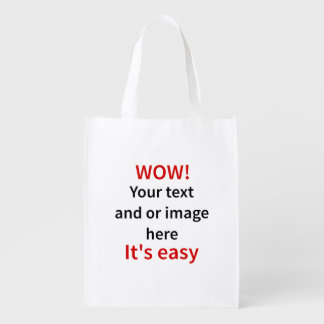 Customizable Template Make Your Own Market Totes