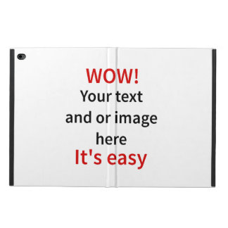 Customizable Template Make Your Own Powis iPad Air 2 Case