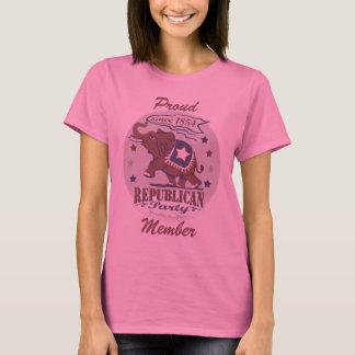 Customizable Template - Proud Republican T-Shirt