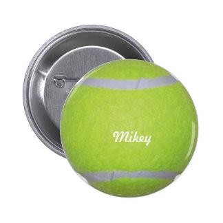 Customizable Tennis Ball 2 Inch Round Button