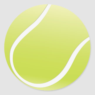 Customizable Tennis Ball Stickers