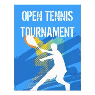 Customizable Tennis Flyer