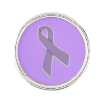 Customizable Testicular Cancer Lapel Pin