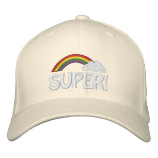 Customizable Text Rainbow Cap