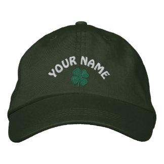 Customizable Text  St. Patricks Day Baseball Hat
