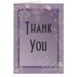 "Customizable ""Thank You"" Card"
