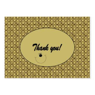"Customizable ""Thank you"" Card / Tag (100)"