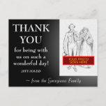 "[ Thumbnail: Customizable ""Thank You"" Postcard ]"